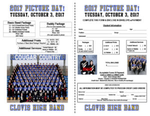 2017 Picture Day Flyer